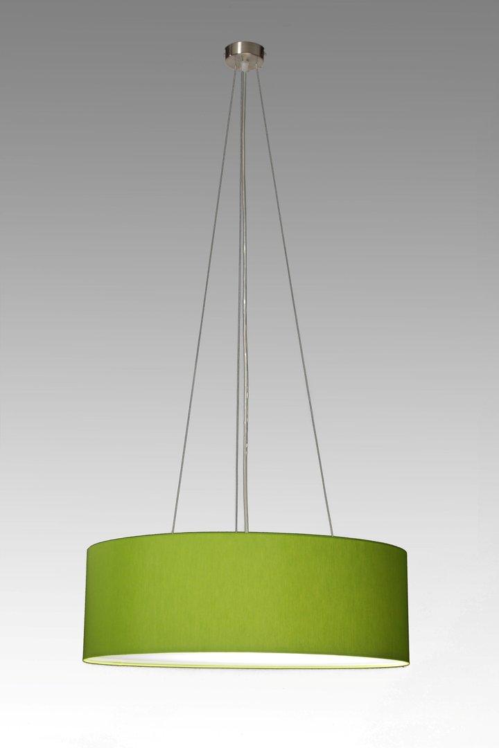 Pendelleuchte aus stoff cm leuchtenmanufaktur brodauf for Pendelleuchte oval stoff