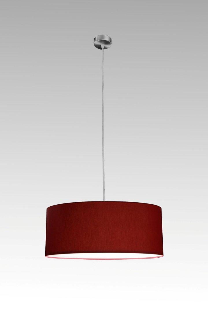 Pendellampe aus stoff cm leuchtenmanufaktur brodauf for Pendelleuchte oval stoff