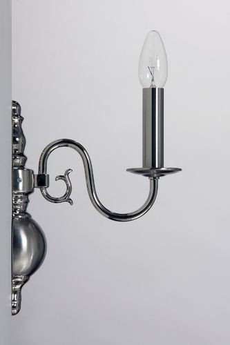 Wandlampe 1-flammig Nickel