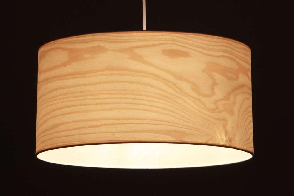 Lampenschirm Birke Furnier Leuchtenmanufaktur Brodauf