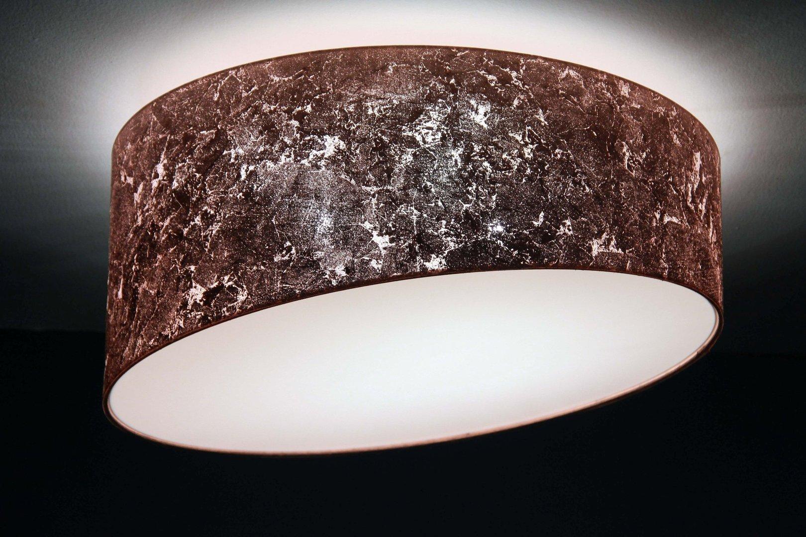 Designer Deckenleuchte kupfer, D.50cm   Leuchtenmanufaktur Brodauf