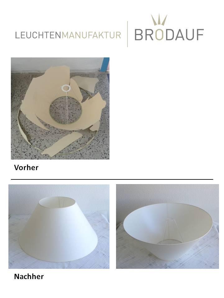 Bekannt Lampenschirm neu beziehen - Leuchtenmanufaktur Brodauf WV13